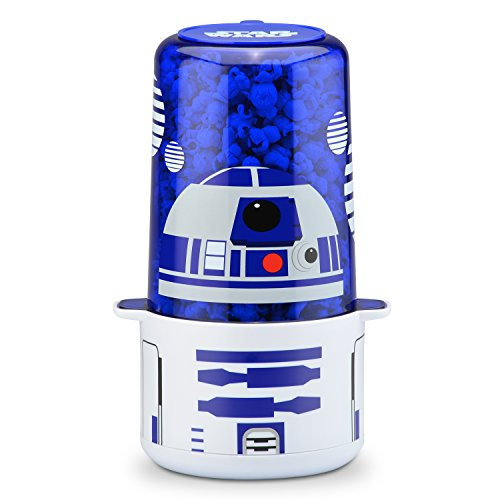 Select Brands Máquina para palomitas de maíz, Star Wars R2-D2, Azul/Blanco, Mini, 1, 1