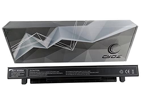 CYDZ® 14.4V 2600mAh Bateria de Laptop A41-X550A para ASUS X450CA X450CC X450CP X450EA X450EP X450JB X450JF X450JN X450LA X450LB X450LC X450LD X450LDV X452LN X452MD X452MJ X452VB X452VC X452VE X452VP