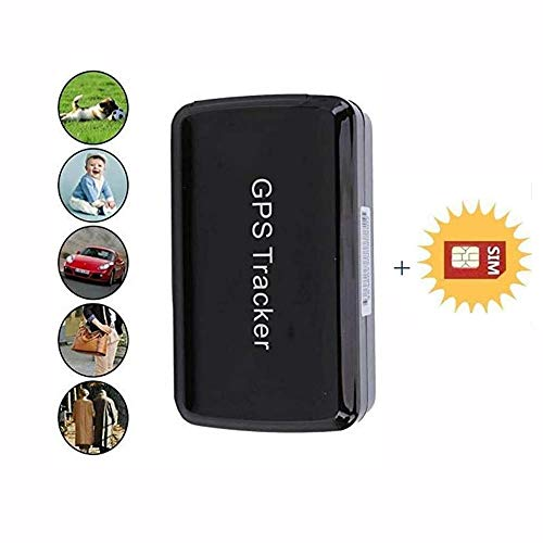 Mini Dispositivo de rastreo Impermeable con Potente imán Largo de Espera GPS localizador para niños Mayores Mascotas Coches LM002