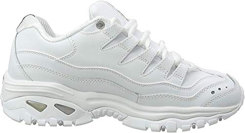 Skechers SPORT - ENERGY, Women's Low Top Trainers,White (White (Weiß Wml)),6 UK (39 EU)