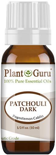 Patchouli Essential Oil (Dark) 10 ml 100% Pure Undiluted Therapeutic Grade.
