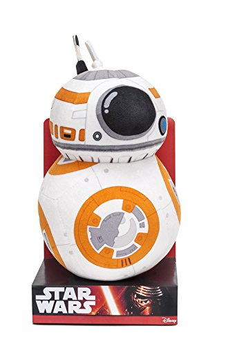 Joy Toy 1500084 - Pupazzo in Velboa del droide BB-8,...