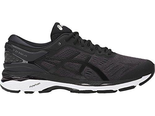 ASICS Men's Gel-Kayano 24 Running Shoe, Black/Phantom/White, 10 Medium US