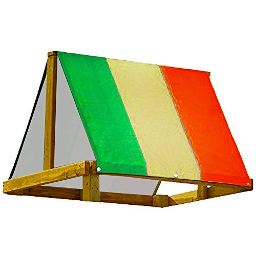 Buy Bargain FLYING TIGER Swing Set Replacement Tarp for Play Set Outdoor, Backyard Wood Playset Swin...