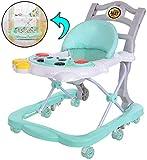 Walker Baby, Baby-Altura Ajustable Walker, Walker bebé con Freno Plegable,...