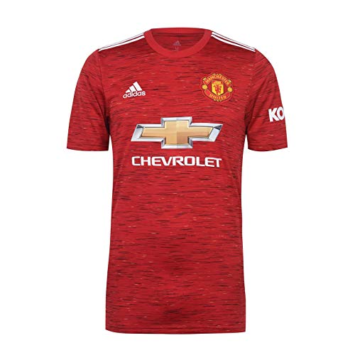 Manchester United FC Official Soccer Gift Mens Home Kit Shirt 4XL Red