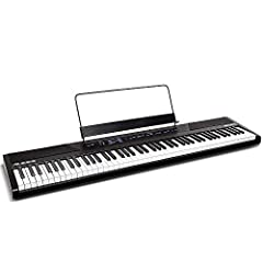 Full features Digital Piano for beginners Electric keyboard with 88 premium full sized semi weighted keys with adjustable touch response to suit your preferred playing style Premium Sounds 5 voices (Acoustic Piano, Electric Piano, Organ, Synth, and B...