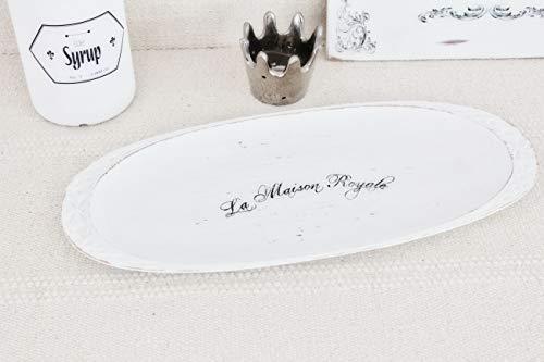 Schale Tablett 'Maison' Massivholz handmade Unikat