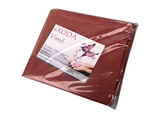 eXODA Inkontinenzlaken Unterlaken Matratzenauflage dunkelrot 200x230 cm Inkontinenzauflage Inkontinenz-Bettlaken auch für Kinder