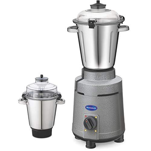 maharani Mixer Grinder, 1800W, 2 Jars (Grey Silver)