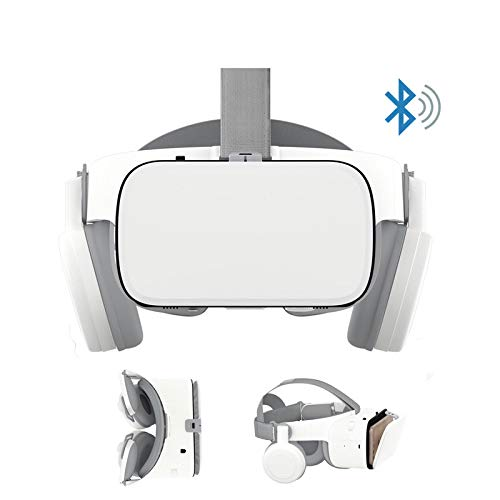 Find Bargain LHTE Upgrade 3D Glasses, VR Headset Bluetooth Virtual Reality Glasses-Wireless VR Helme...