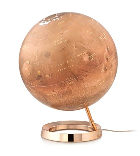 Red Planet: Naional Geographic Planet Mars: Globus Planet Mars (Himmel und Planeten)