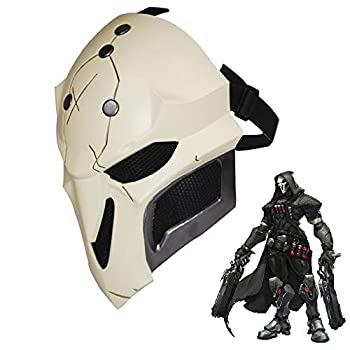 OW Reaper Cosplay Mask 1 1 Replica Props Halloween Game Anime Face Cover Deluxe Costume Accessories