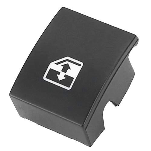 AUTOKNOPFSCHALTER Fensterheber-Schalter Taste Abdeckung/Fit for Opel OPEL Astra H MK5 04-10 / Fit for Zafira B 05-11 / Fit for TIGRA B (Color : Black)