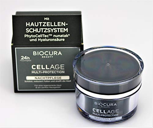 BIOCURA BEAUTY CELL AGE Nachtpflege