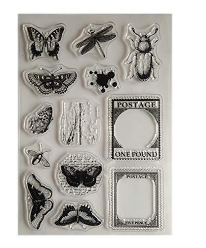 Schmall - Drucken & Stempeln in Insekt, Größe Small