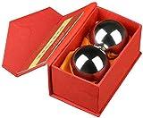 Palm de bola de masaje bolas Baoding bolas Bolas de baooding, bolas de estrés de ejercicio de salud...