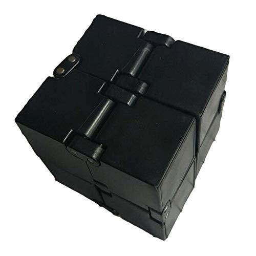 LAOZI Fingertip Würfel, Mini ABS Infinity Cube für Stressabbau Zappeln Anti Angst Stress für Kinder Erwachsene EDC Spielzeug