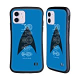 Head Case Designs Officially Licensed Star Trek Delta Complete Ships of The Line Hybrid Case Compatible with Apple iPhone 11
