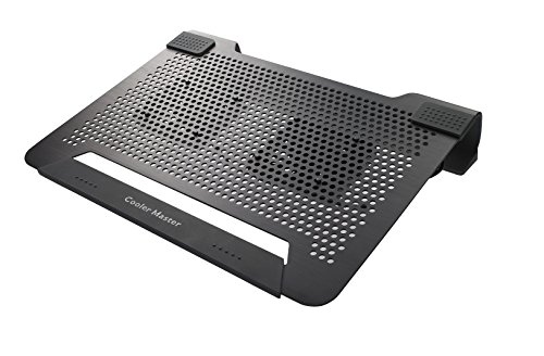 CoolerMaster NotePalU2 38,1 cm (14 Zoll) Up to 17\'\' Notebook-Kühler schwarz
