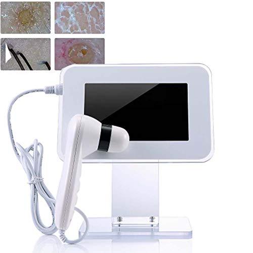 WFWPY HD Analizador del Cuero Cabelludo, Detector De Piel Facial del Folículo...