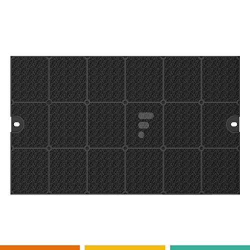 FC77 - filtre à charbon pour hotte Aeg Electrolux EFF52 50290655005-44x27x2 cm. - DeDietrich 9029793768 / 92X3609 / EFF52 / EFF53