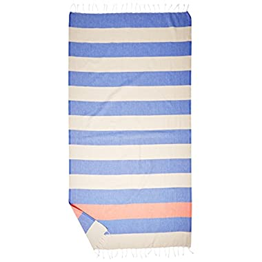 Cacala Pestemal Turkish Bath Towels Striped Bath Beach Sauna Luxury Peshtemal 37x70 Blue Beige