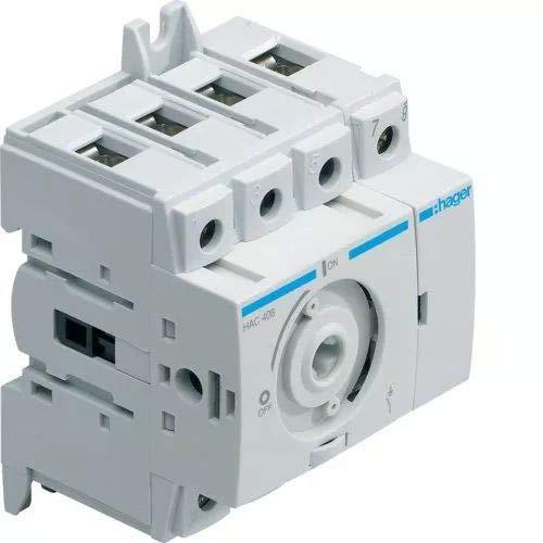 Hager Sistemas HAB404 Interruptor Demaniobra ConmAndo Rotativo 4P, 40A