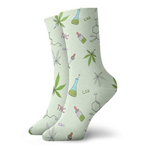 Tammy Jear Calcetines de vestir estampados para hombres y mujeres Aceite de...