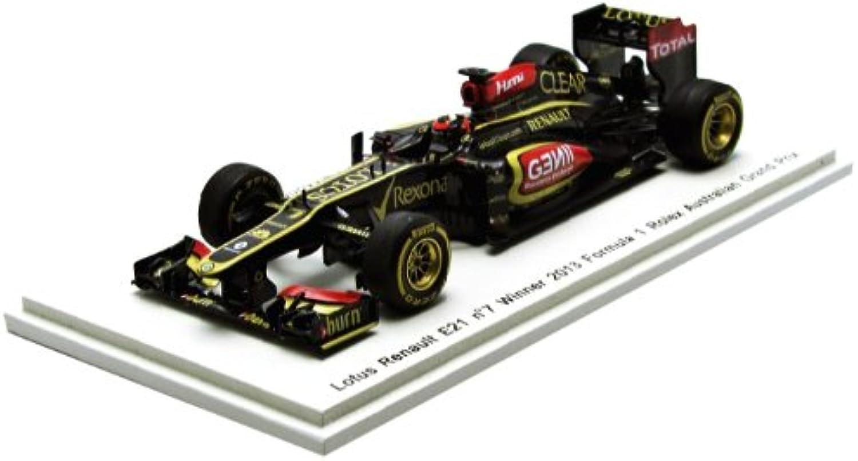 Spark Lotus E21 Winner Australian GP 2013 Race Version - Kimi Raikkonen 1 43 Scale Resin Collectors Model