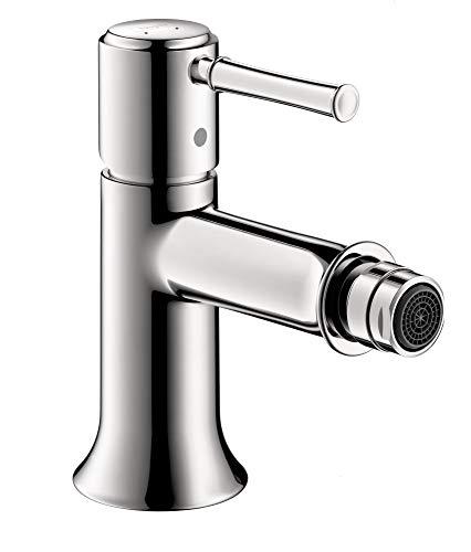 hansgrohe 14120001 Talis C 6-inch Tall 1 Bidet Faucet in Chrome