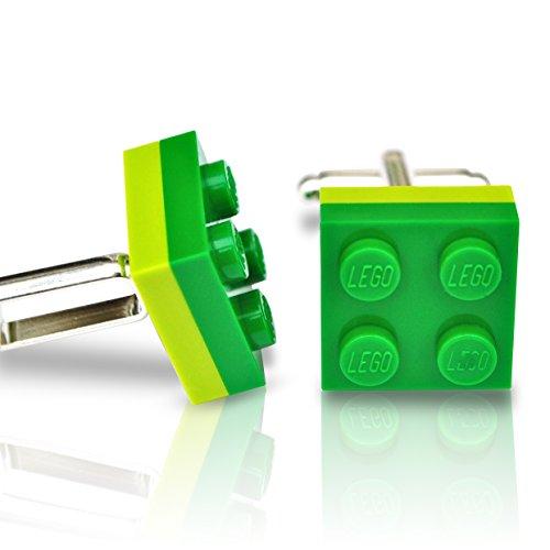 LEGO® placa Gemelos verde y color verde boda