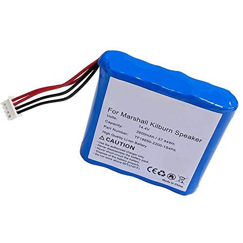 Marshall Kilburn Speaker Battery Replacement for Marshall Kilburn, (14.4V, 2600mAh TF18650-2200-1S4PA Battery)