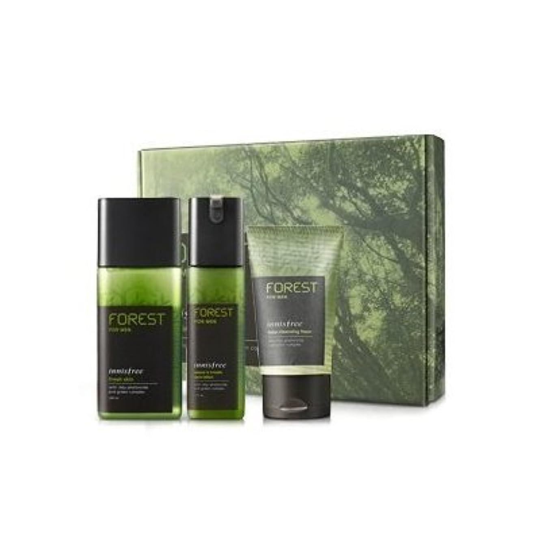 以降マークされた消えるKOREAN COSMETICS, Innisfree, Forest for men grooming set (Fresh Skin 180ml + sebum & Trouble Zero Lotion 120ml...