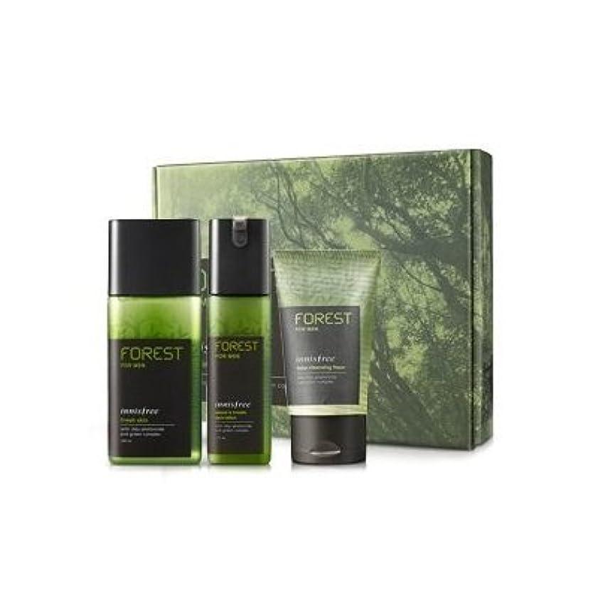 赤ちゃんオリエントマットレスKOREAN COSMETICS, Innisfree, Forest for men grooming set (Fresh Skin 180ml + sebum & Trouble Zero Lotion 120ml...