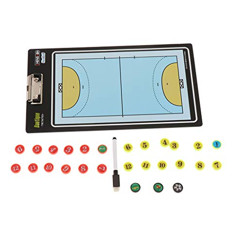 Basketball Taktiktafel Fussball Coaching Board Handball Football Volleyball abwischbares Taktikbrett - Volleyball