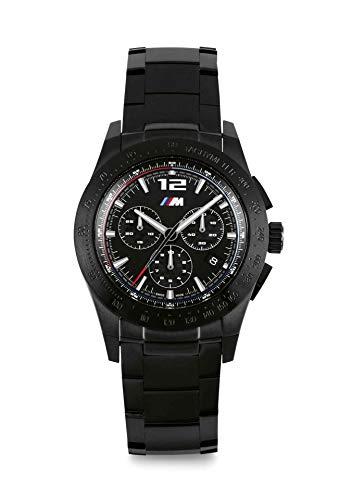 BMW 80262463269 - Orologio da polso con cronografo, unisex, colore: Nero