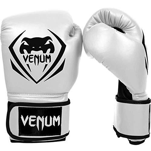 YDS SHOP Erwachsene Männer und Frauen-weiße Boxhandschuhe, Sanda Training Muay Thai Fighting Sandsack-Handschuhe