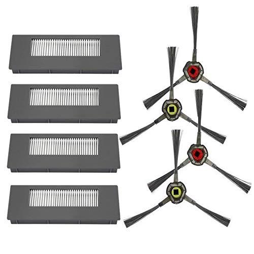 Amoy Accesorios Kit Compatible DEEBOT 900 901 Robot Aspirador Filtros y cepillos
