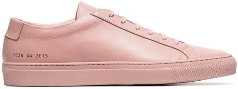 COMMON PROJECTS Herren 15282015 Rosa Leder Sneakers B07PHSBNV6  | Starker Wert