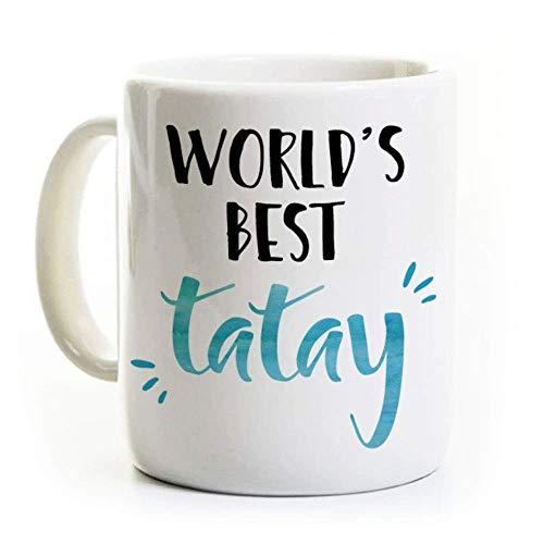 N\A La Mejor Taza de café Tatay del Mundo - El Mejor papá Filipino del Mundo - Día del Padre