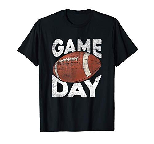 Vintage American Football Spieltag Sportliebhaber T-Shirt