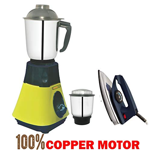 LONGWAY Jar Mixer Grinder, 650W (Off White)