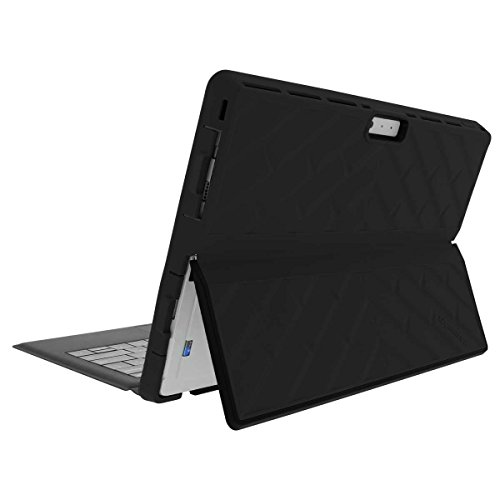 Gumdrop Cases Droptech for Surface 3 Rugged 2-in-1 Tablet Case Shock Absorbing Cover Black/Black 1645