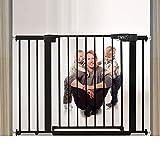 Extending Barrera de Seguridad Sin Taladrar Barrera Puertas Barrera para Perros Cierre Rpido Red de Seguridad Doble Cerradura...
