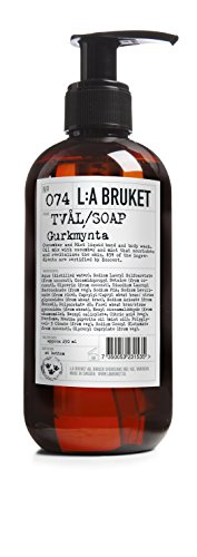 L:a Bruket No.74 Flüssigseife, Cucumber / Mint,1er Pack (1 x 250 ml)