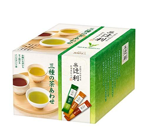 スマートマットライト 辻利 インスタント 三種の茶あわせ 100P