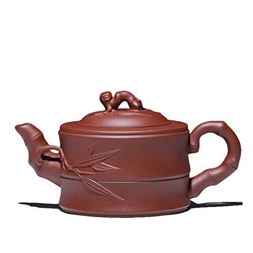 Mozentea Chinese Yixing zisha Handmade Purple Clay teapot mud Water Tea Sand Pot Kettle for gongfu Tea best gift YT2