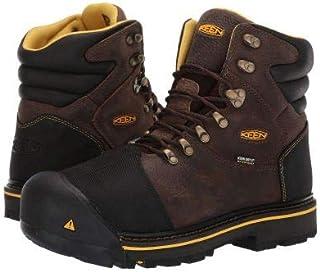 [キーン] Utility メンズ 男性用 シューズ 靴 ブーツ 安全靴 ワーカーブーツ Fort Mac Waterproof - Slate Black [並行輸入品]