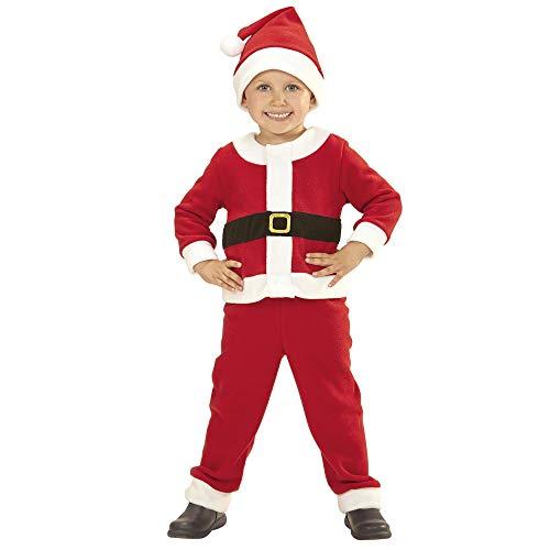 WIDMANN Papá Noel niño Disfraz de 98cm Padre Papá Noel